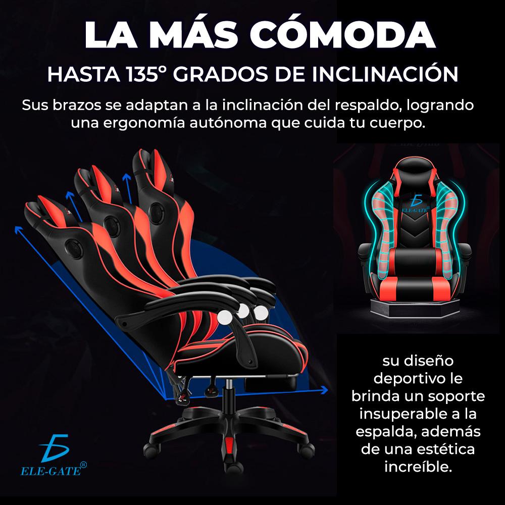 Sillón Gamer Gaming Diseño Racing Video Juegos Oficina