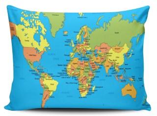 Resultado de imagem para mapa almofada decoração