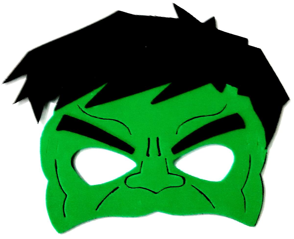Template Incredible Hulk Face