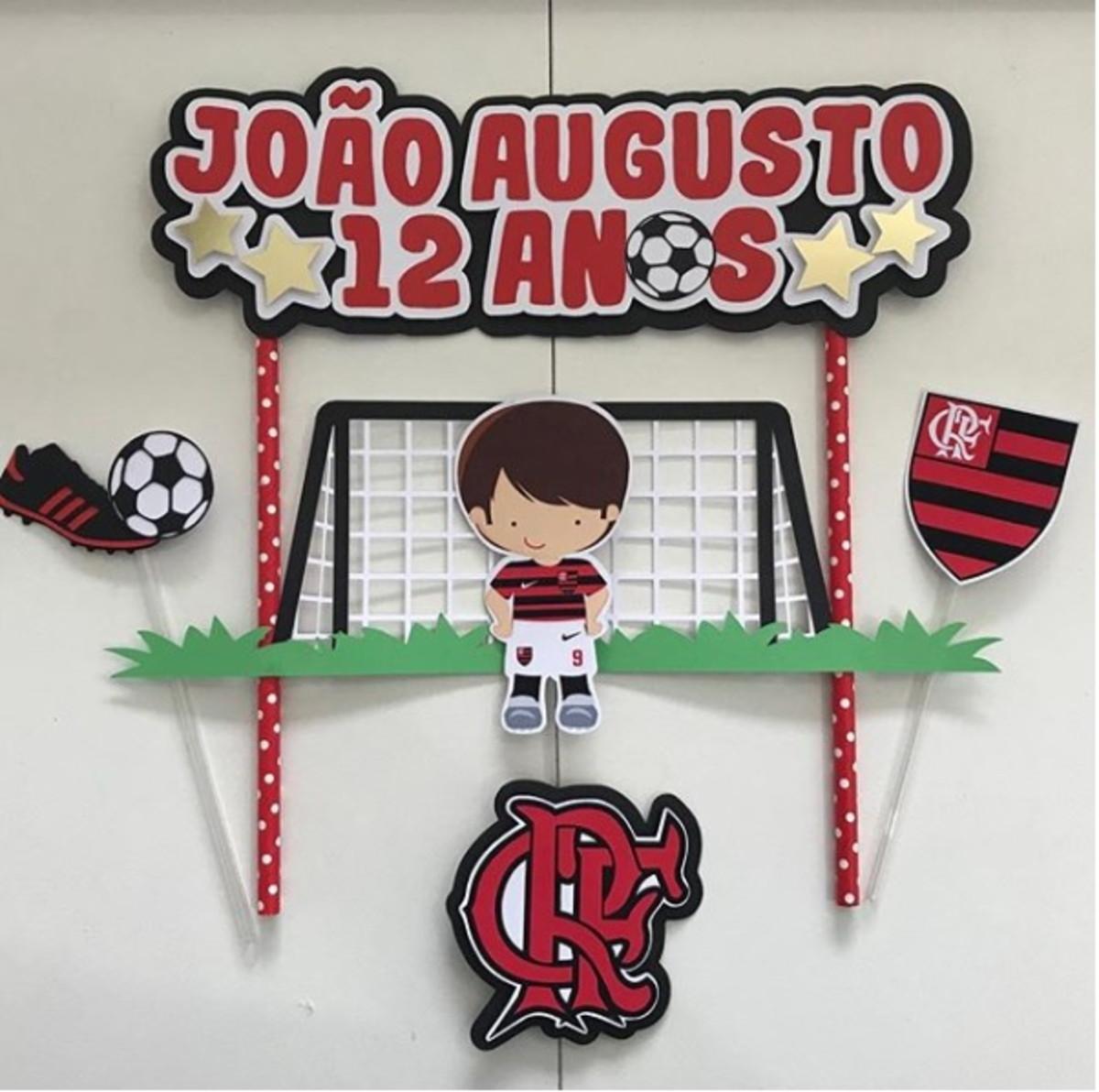 Arquivo De Corte Topo De Bolo Flamengo No Elo7 Criative