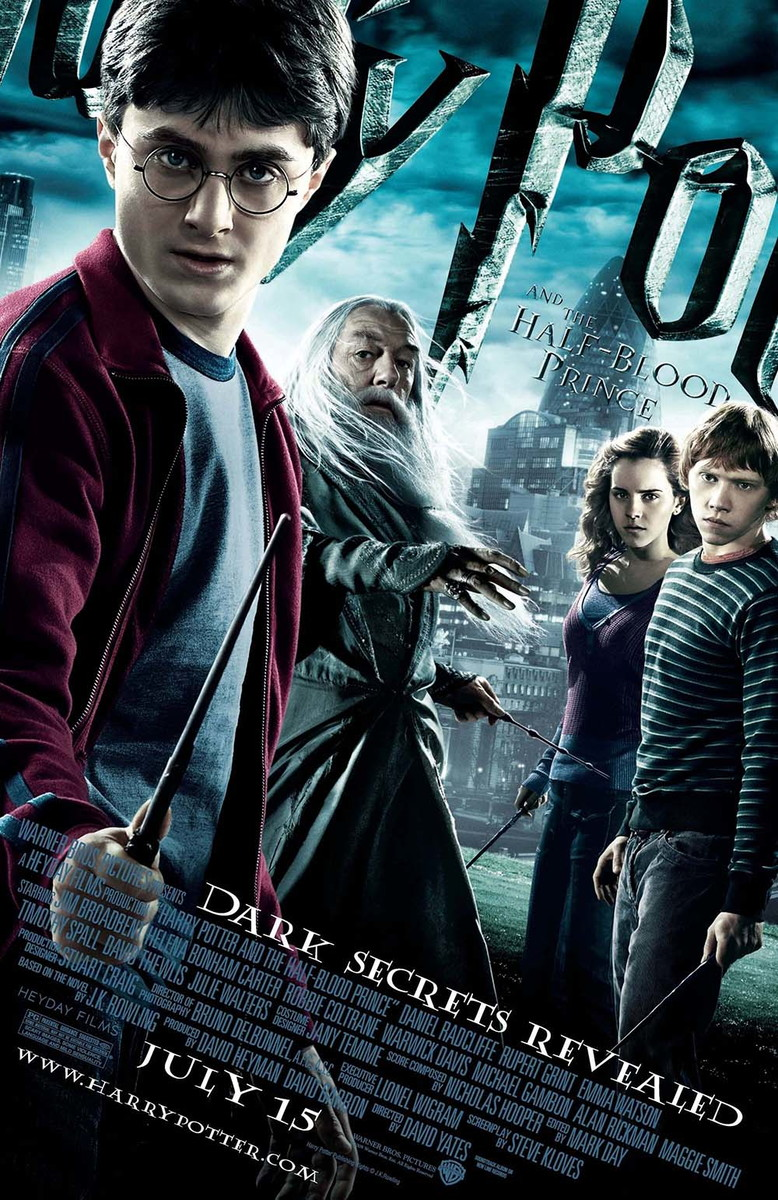 Big Poster Harry Potter e o Enigma do Príncipe LO08 90x60 cm no ...