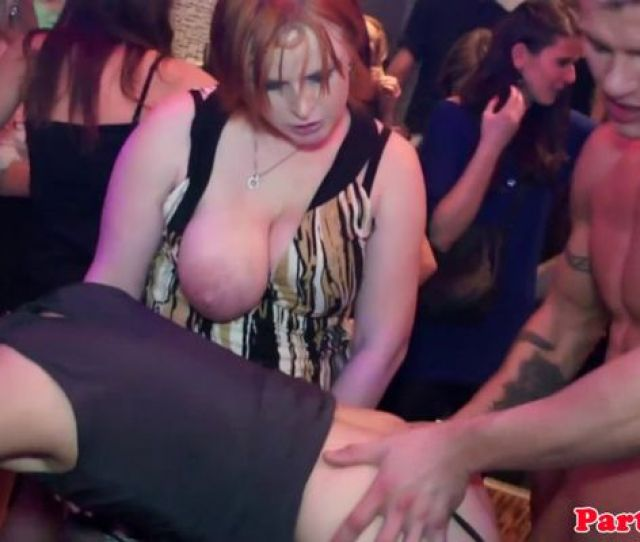 Real Party Euro Teen Tugging Cock
