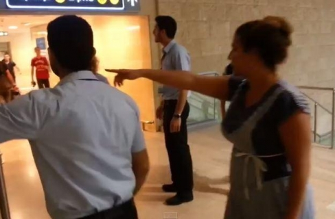 kepanikan warga Israel