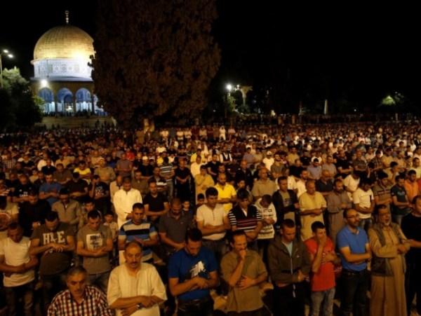Aqsha - taraweh malam pertama