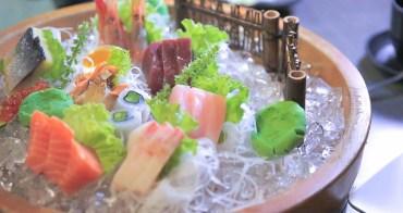花蓮美食推薦|叁丸日式料理 隱身在巷弄的日式老宅 CP值很高的巨無霸日式料理