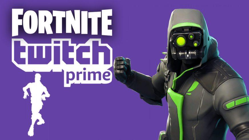 Twitch Prime Skins In Fortnite | Free V Bucks 100