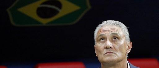 O técnico Tite. Foto: Sergey Dolzhenko/AP