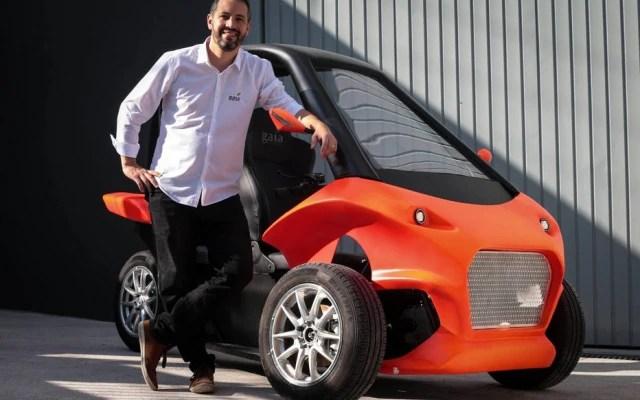 Gaia, de Ivan Gorski, tem autonomia para rodar 200 km