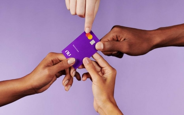 Nubank is known for its credit card, called 'purple'