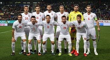 Reprodução Facebook Federação Sérvia de Futebol