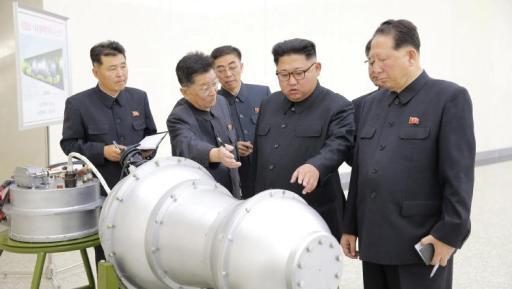 KCNA/Handout via Reuters