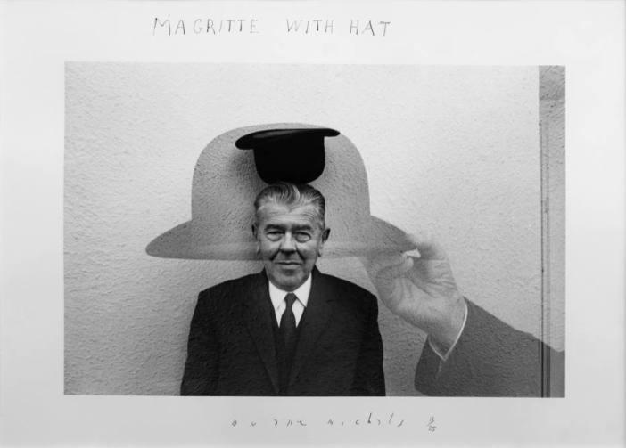 Retrato do pintor surrealista René Magritte Foto: Duane Michals/SP-Foto