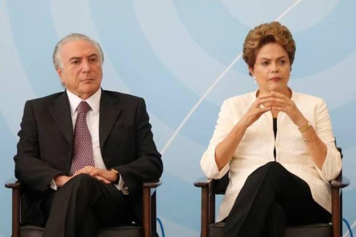 Na Presidência, sai Dilma Rousseff, entra Michel Temer