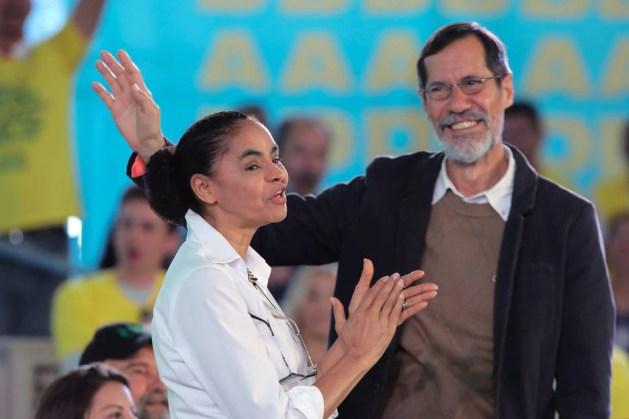 Marina Silva e Eduardo Jorge presidência Eleições 2018