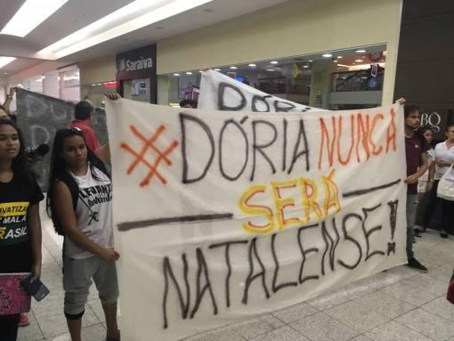 Protesto contra Doria
