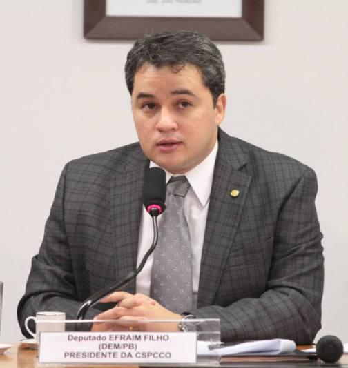 Deputado Efraim Filho (DEM-PB)