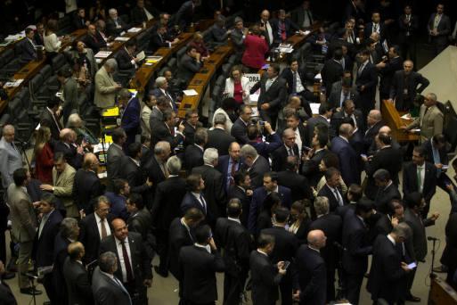 plenário votação temer