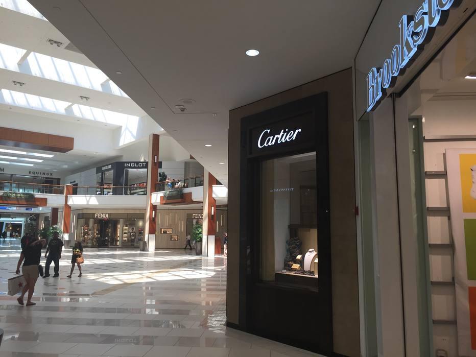 O Aventura Mall é um dos shoppings favoritos dos brasileiros
