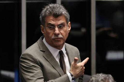 O senador Romero Juca