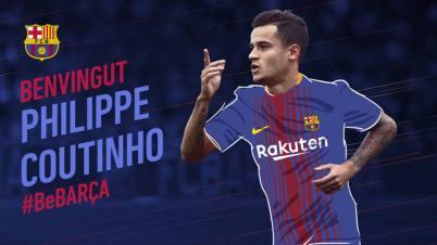 Barcelona anuncia contratação de Philippe Coutinho