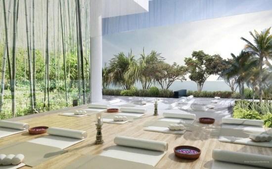 O Canvas tem até um centro de yoga