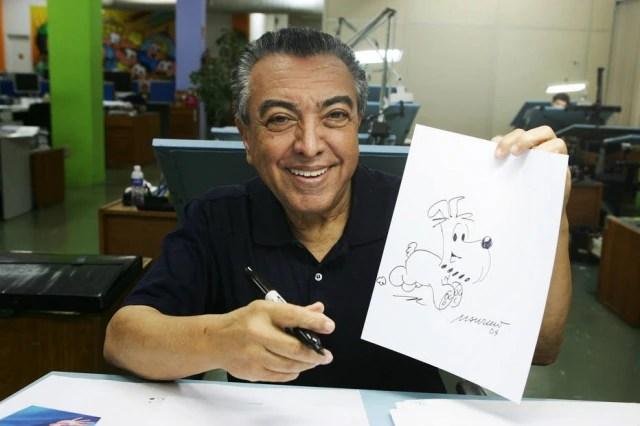 O cachorro Bidu, inspirado em um cão da raça Schnauzer, foi o primeiro personagem de Mauricio de Souza