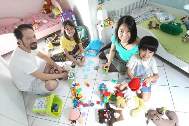 A família de Fernanda Toma optou por sempre reservar tempo para a diversão