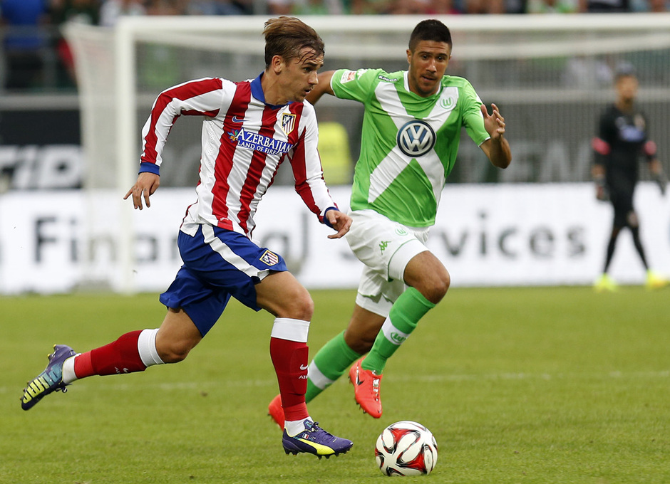 Antoine Griezmann provides pace to the Atletico setup