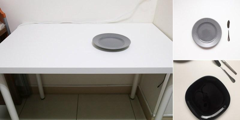 IKEA小白桌,要拍攝商品或是美食的背景好幫手,價格實惠顏色百搭