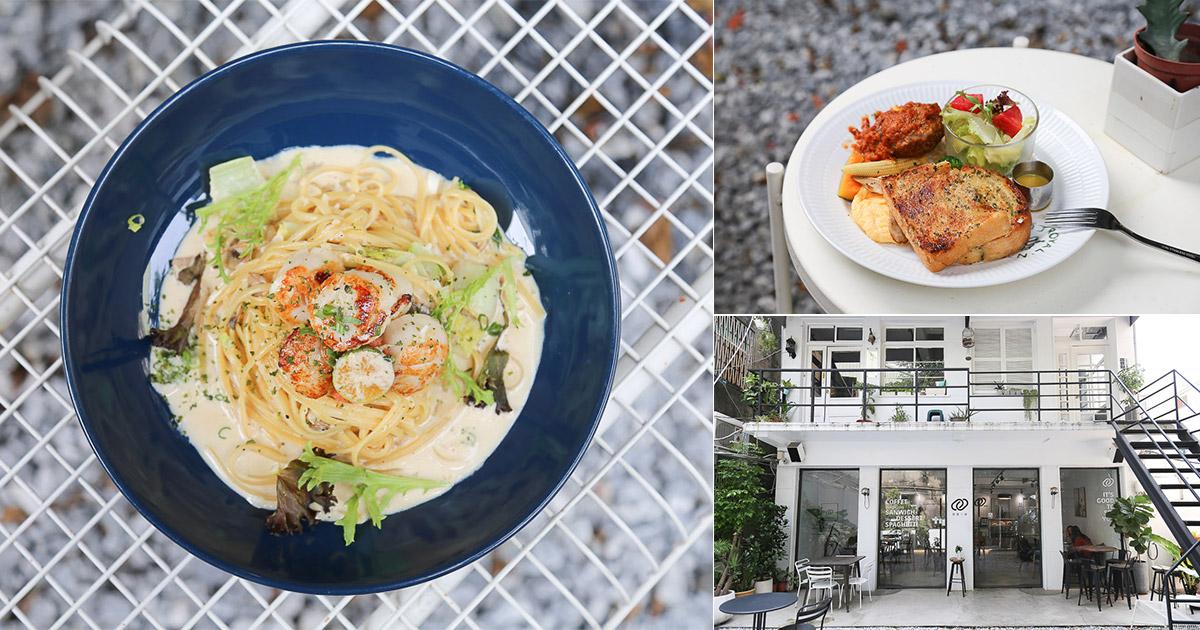 台南 白色系清新早午餐店,環境好拍之外餐點也好吃 台南市東區|Cape 開普一號店