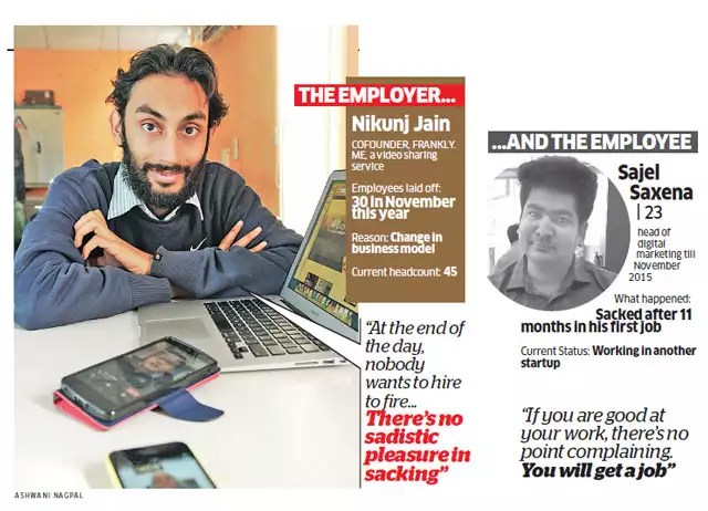 Pink slips: Startups forced to lose employees to stay afloat