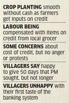 Demonetisation: In planting season, trust and credit in full bloom in fields