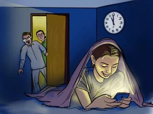 Image result for mobile addicted