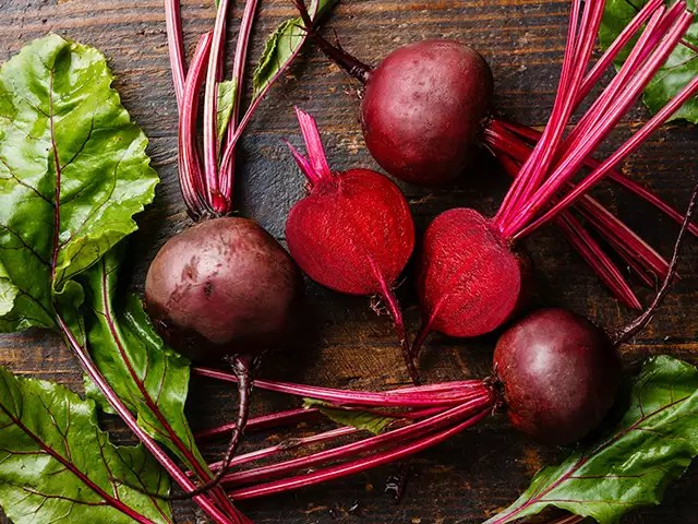 beetroot juice aids in blood pressure control