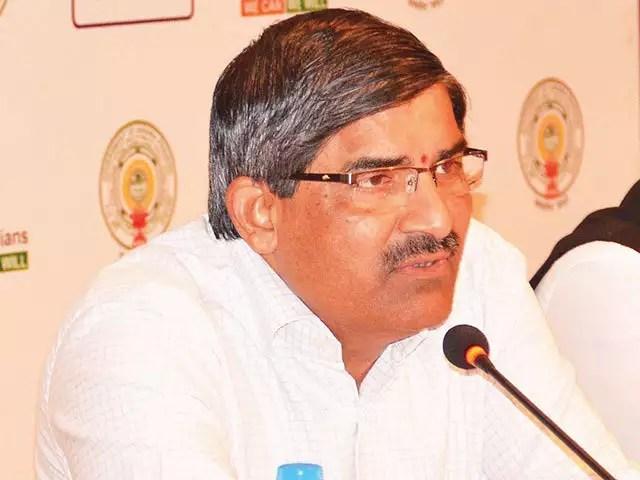 lv subrahamanyam taken charge as ap cs