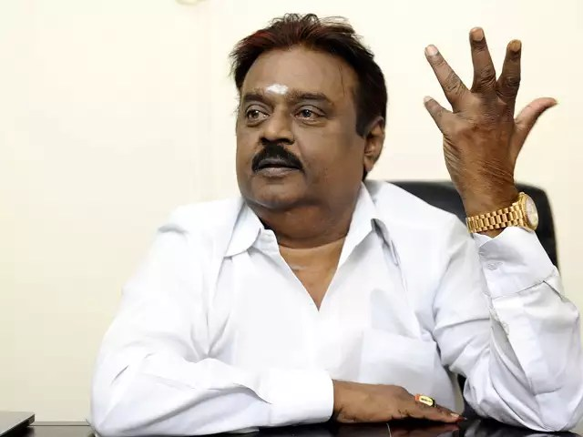 Actor Politician Vijayakanth Assets To Be Auctioned By Banks For Not Repaying Loans