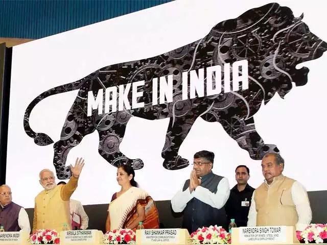पीएम मोदी और मेक इन इंडिया के लिए चित्र परिणाम