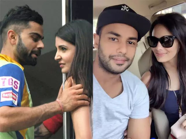 Image result for mayanti with cricketers
