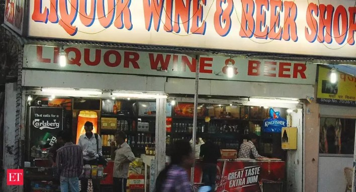 covid-19 impact: liquor stores may face dry days ahead - the economic times
