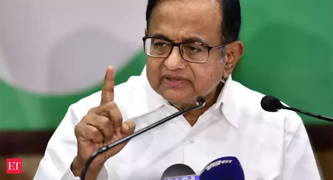 PM gave headline, blank page: Chidambaram on financial package