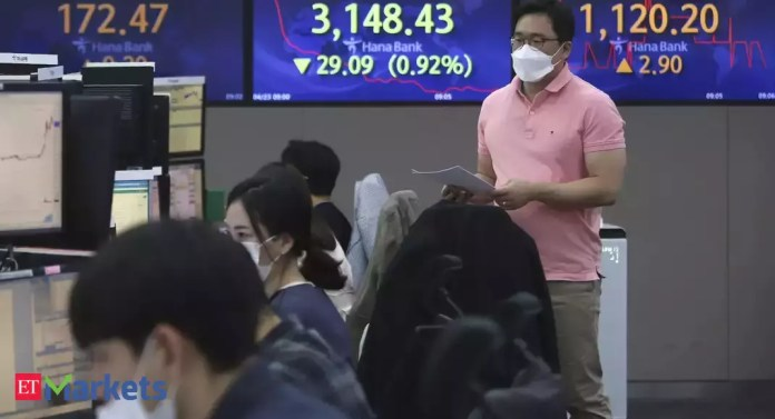 Asian shares at 6-week highs; all eyes on Fed, US GDP | Latest News Live | Find the all top headlines, breaking news for free online April 26, 2021