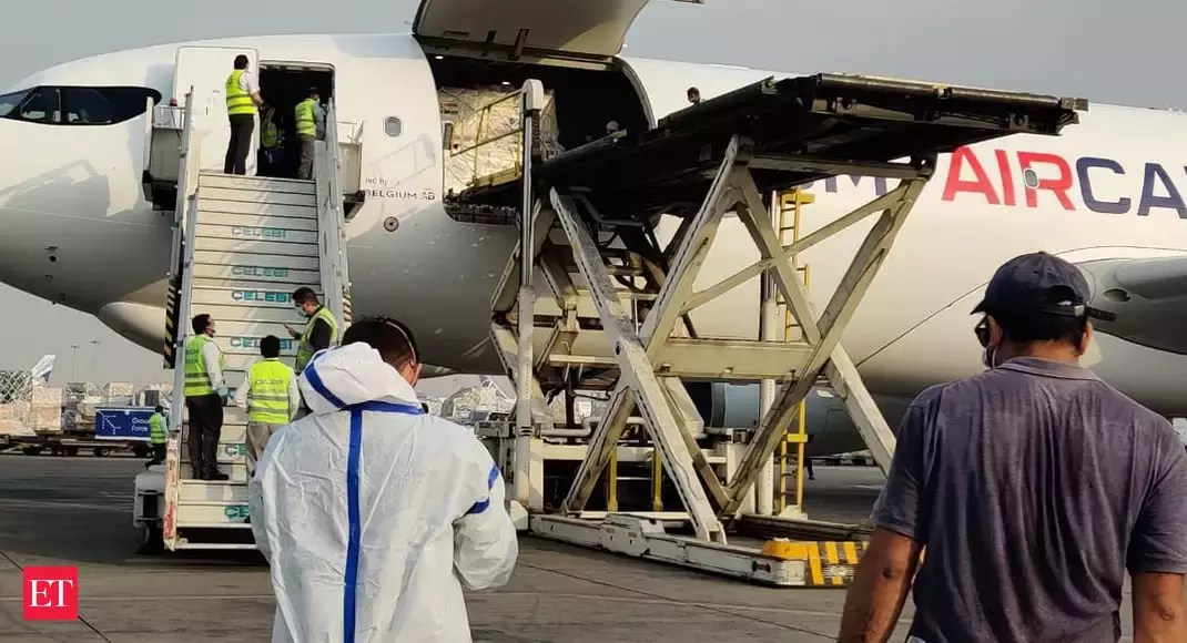 India receives essential medical supplies from France to combat COVID-19 surge