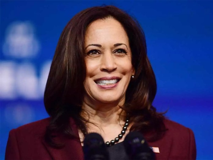 Need to build back US economy better so that it lifts up everyone: Kamala  Harris - The Economic Times