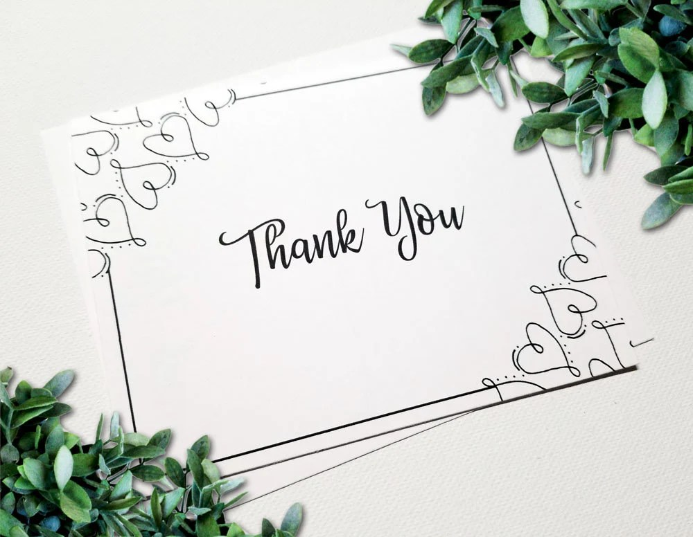 Thank You Cards - Wedding...