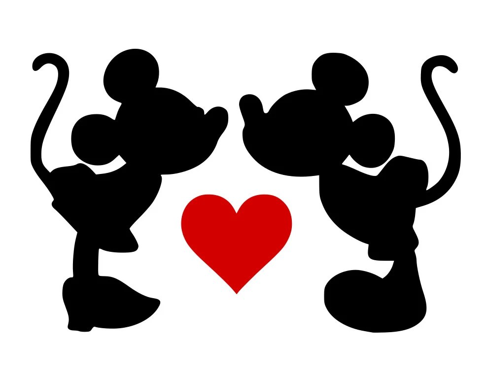 Download Mickey Mouse Love svg file