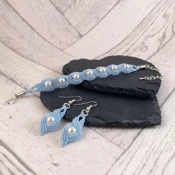 Something Blue Jewellery Set
