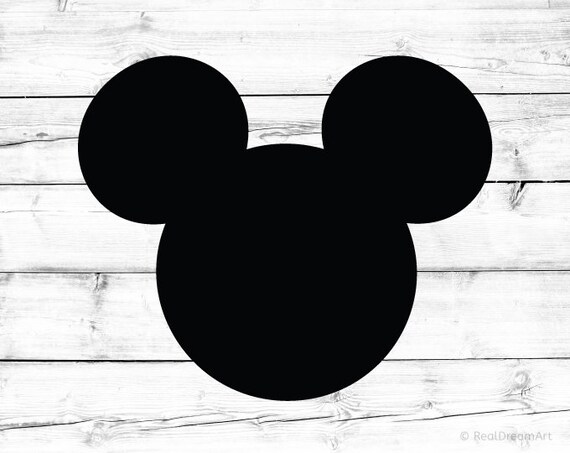 Download Mickey Mouse Svg Mickey Mouse Silhouette Mickey Mouse Head Svg