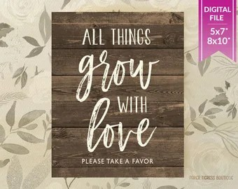 Download All things grow | Etsy