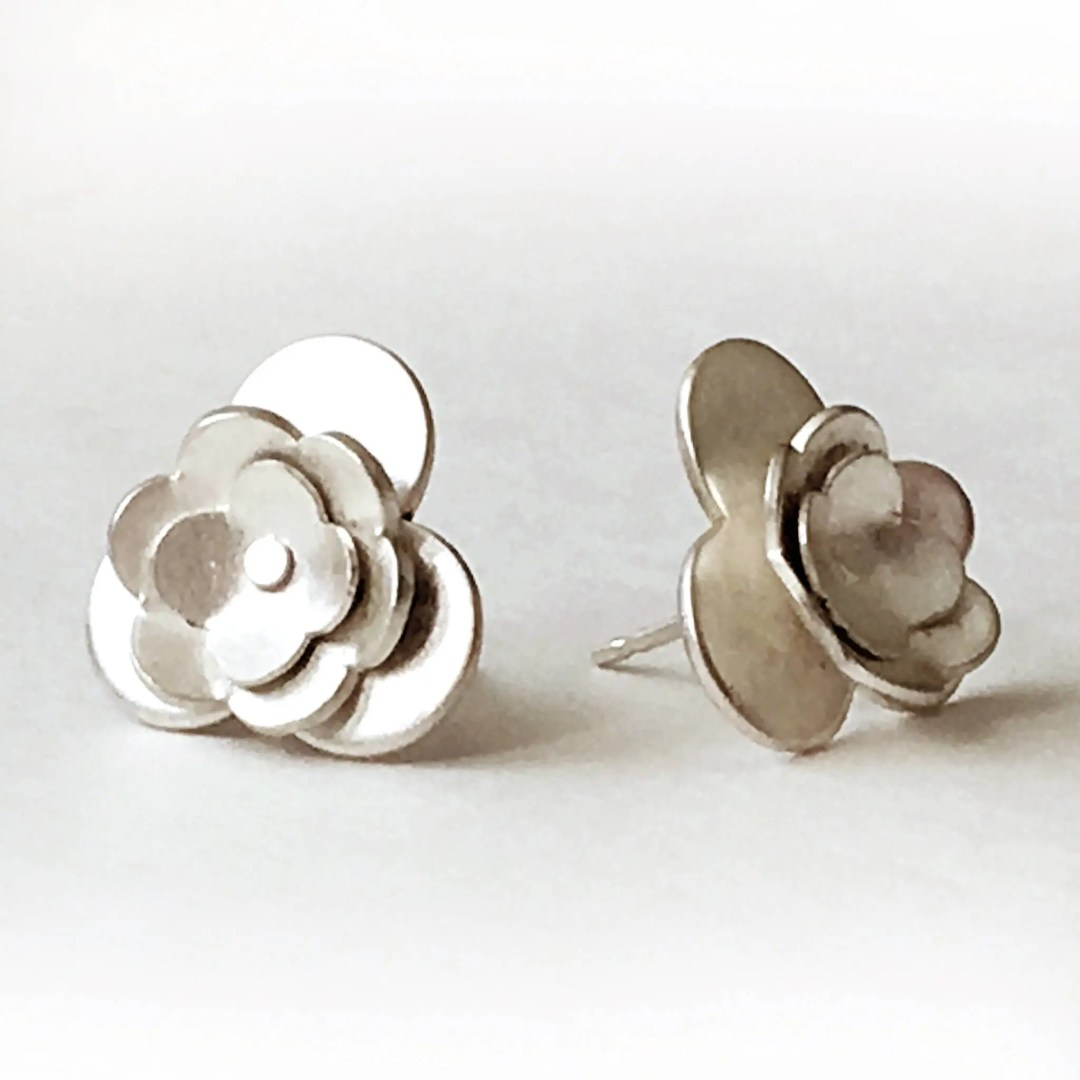 Large Sterling Silver Flo...