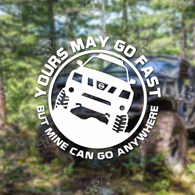 DECAL – [Yours May Go F...